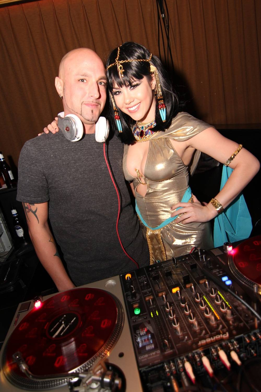 DJ MYK and Claire Sinclair at Posh