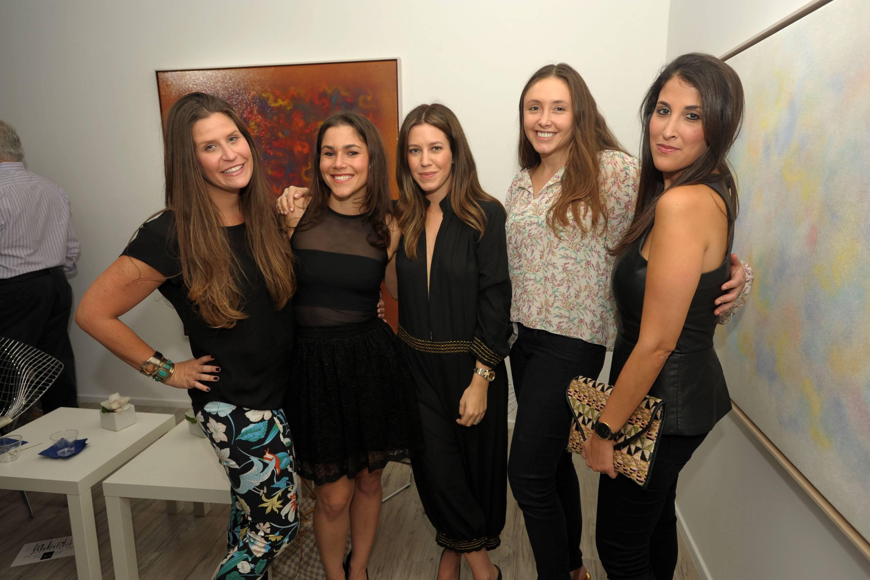 Danielle Goldenberg, Katy Zinn, Stacey Galbut, Marisa Marcus, & Gabby Shayne