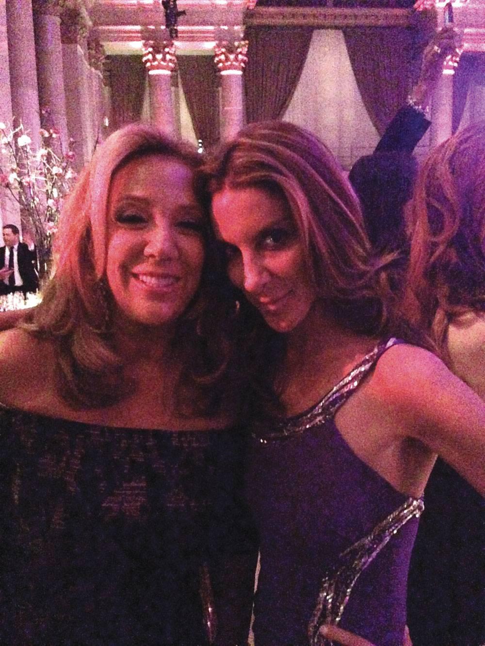 Denise Rich and Dori Cooperman