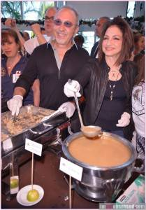 Gloria and Emilio Estefan at last year's event