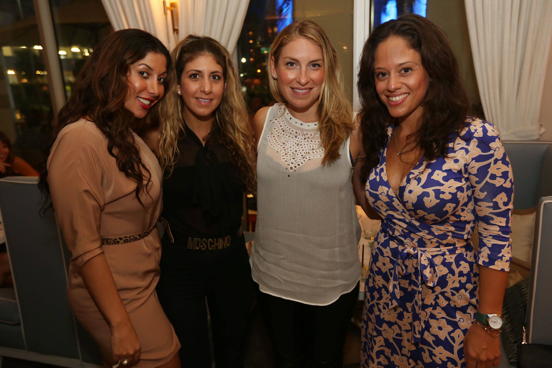 Mighael Halabu, Christie Soriero, Tali Jaffe, & Melissa Goldfischer