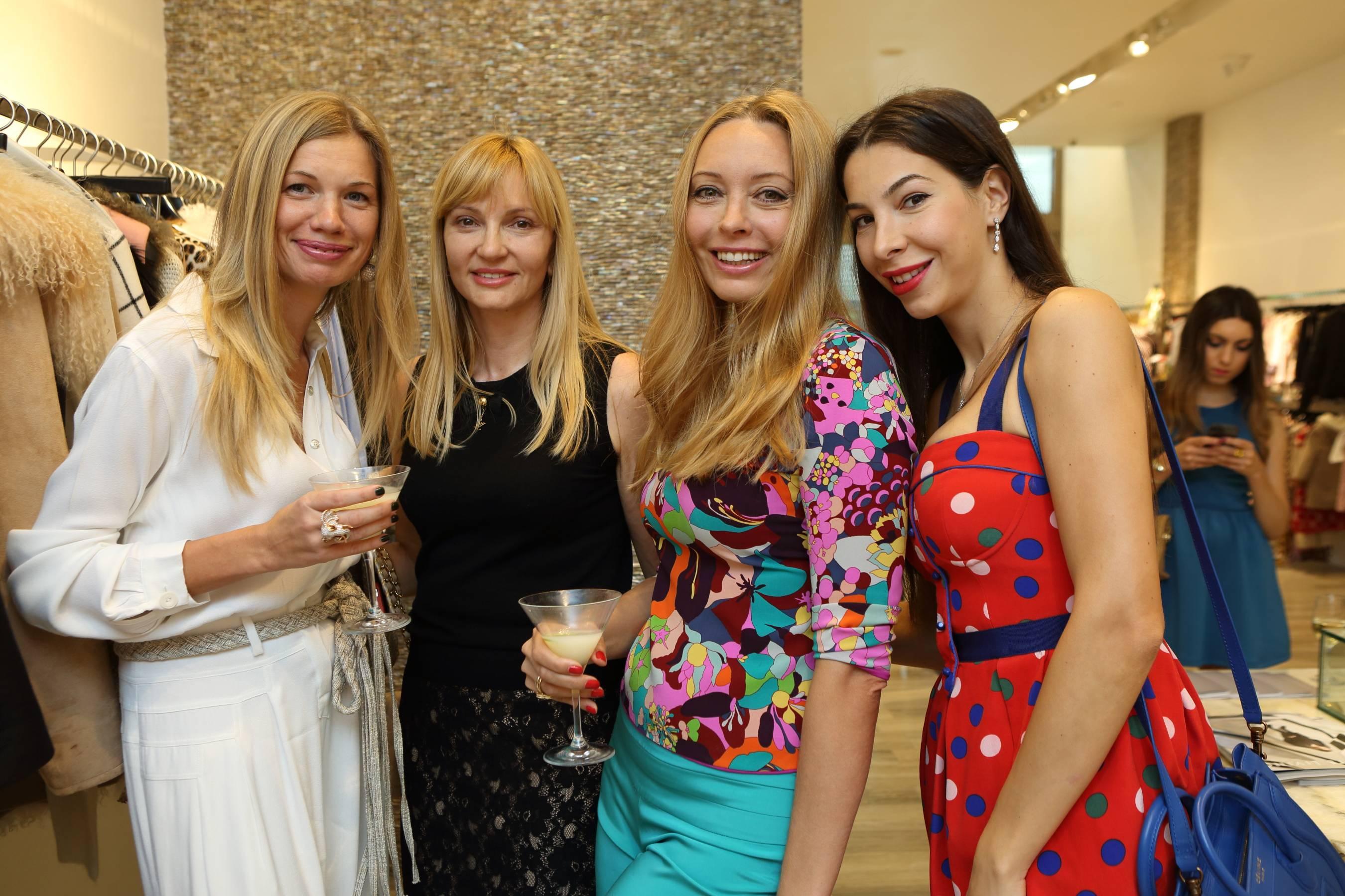 Irina Trukhacheva, Liliay Atamanyuk, Katerina Miroshkina, Yana Mishieva