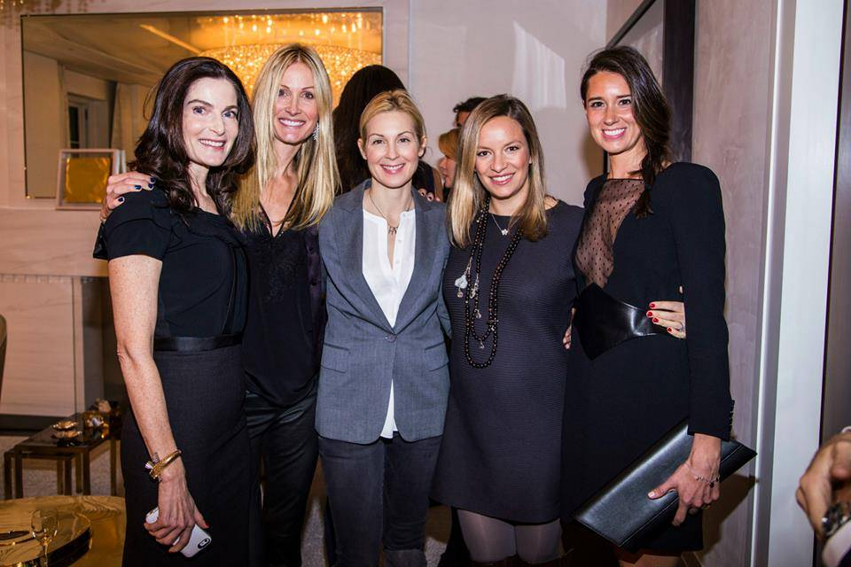 Jennifer Creel, Christine Mack, Kelly Rutherford, Coralie Charriol Paul, Alvina Fuchs