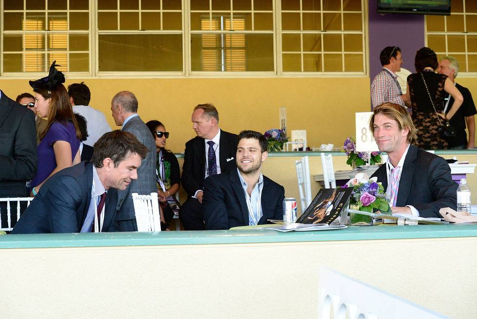 JerryOConnell_JerryFererra_CharlieOConnell_BreedersCup_PhotoCreditInvision