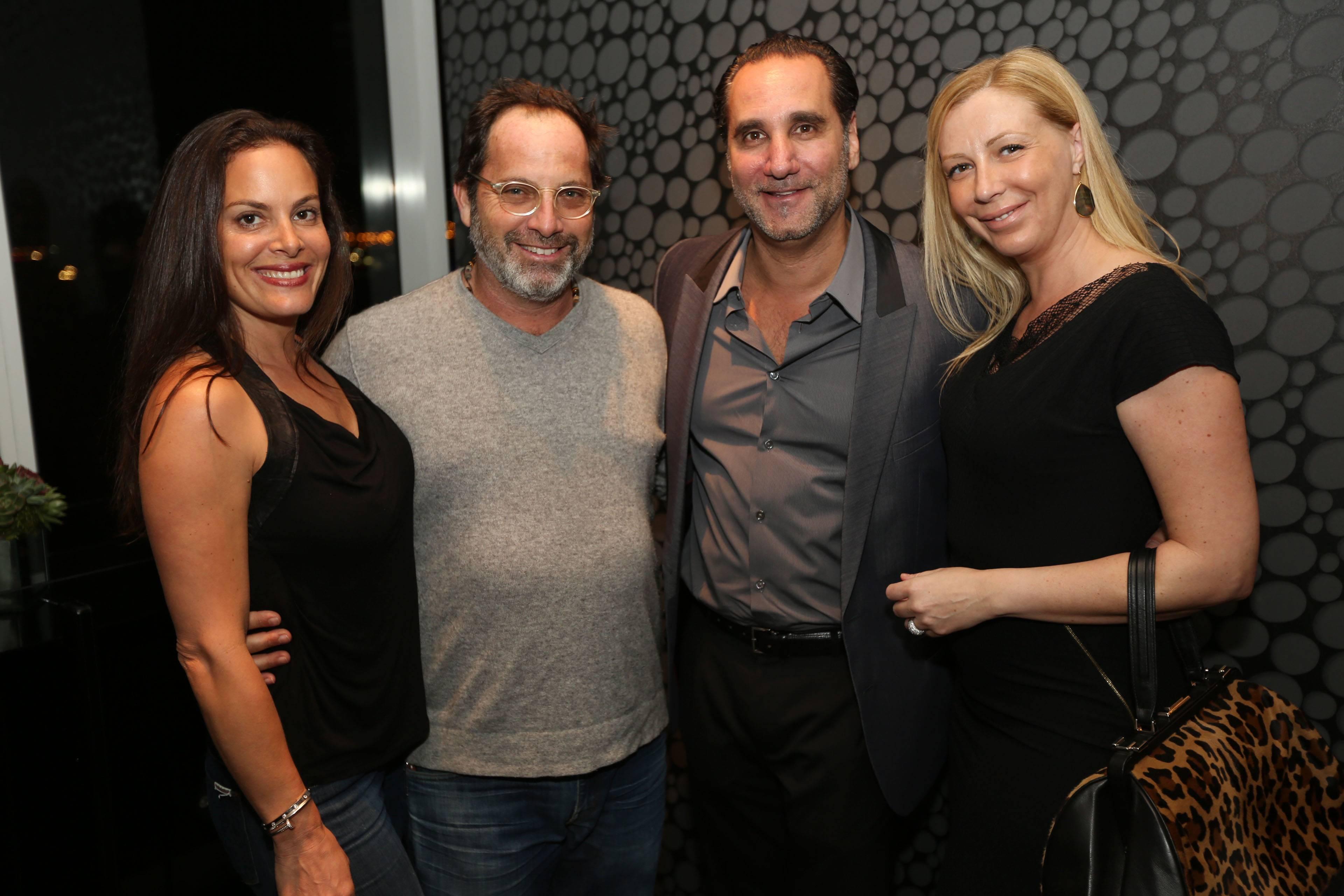 Kim & Todd Glaser, & Louis & Angela Birdman