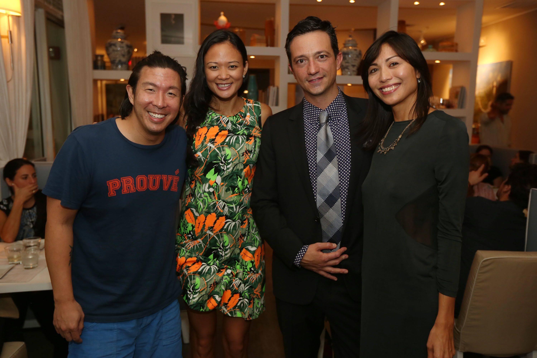 John Lin, Criselda Breene, Ciro Campagnoli, & Gabby Mejia