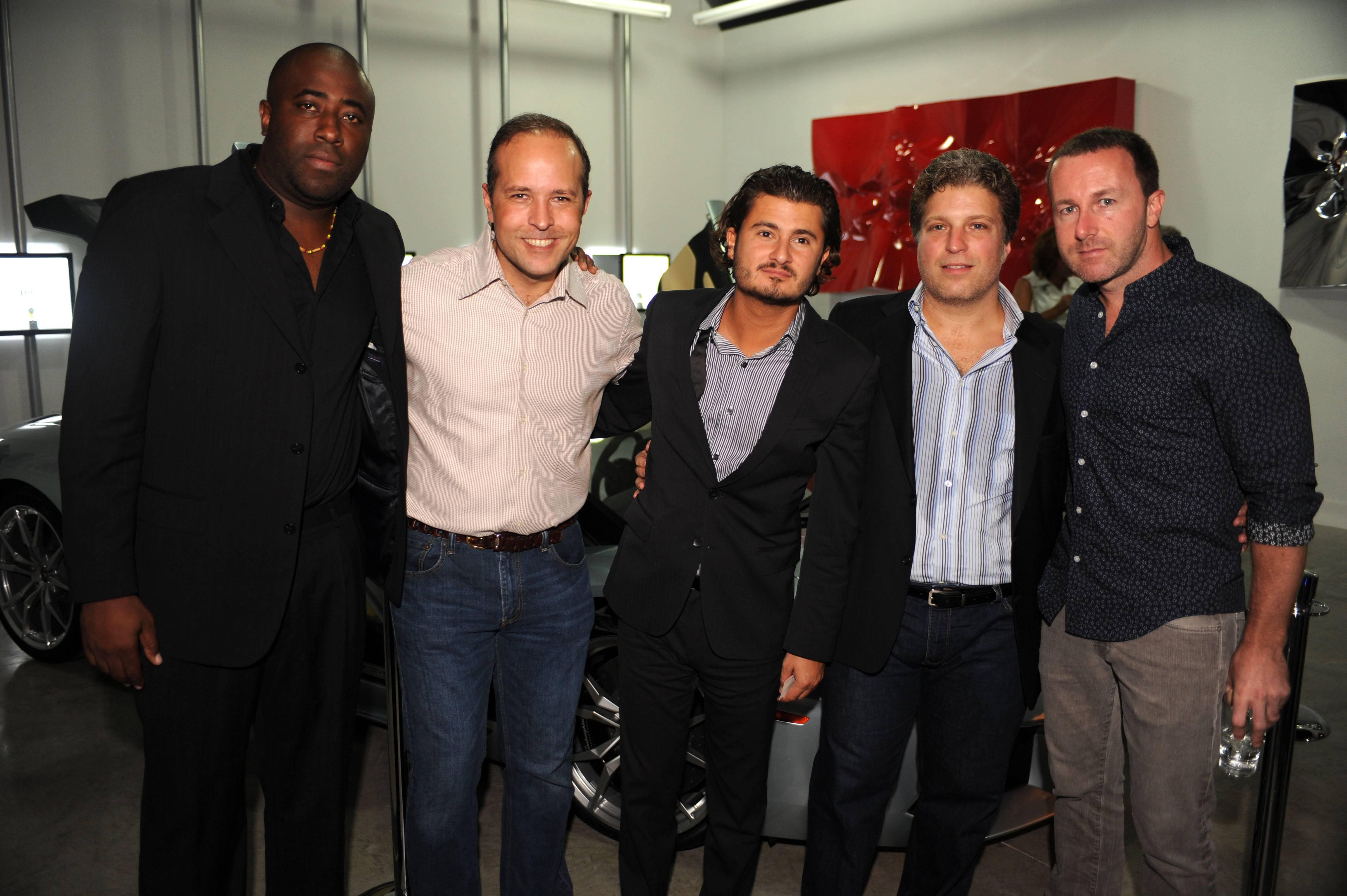 Lloyd Cox, Tomas Regalado, John Temerian, Joe Alcantara, & Jonathan Cox2