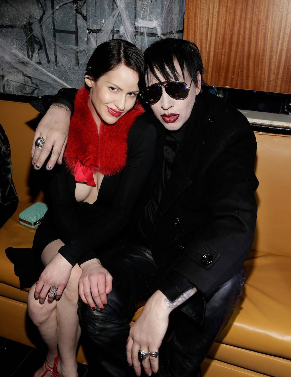 Marilyn Manson hosts at Hyde. Photos: Isaac Brekken/Getty