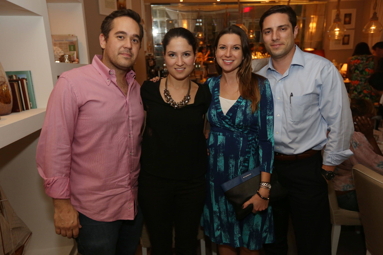 David Pardo, Cristina Planas, & Rachel & Michael Gomez