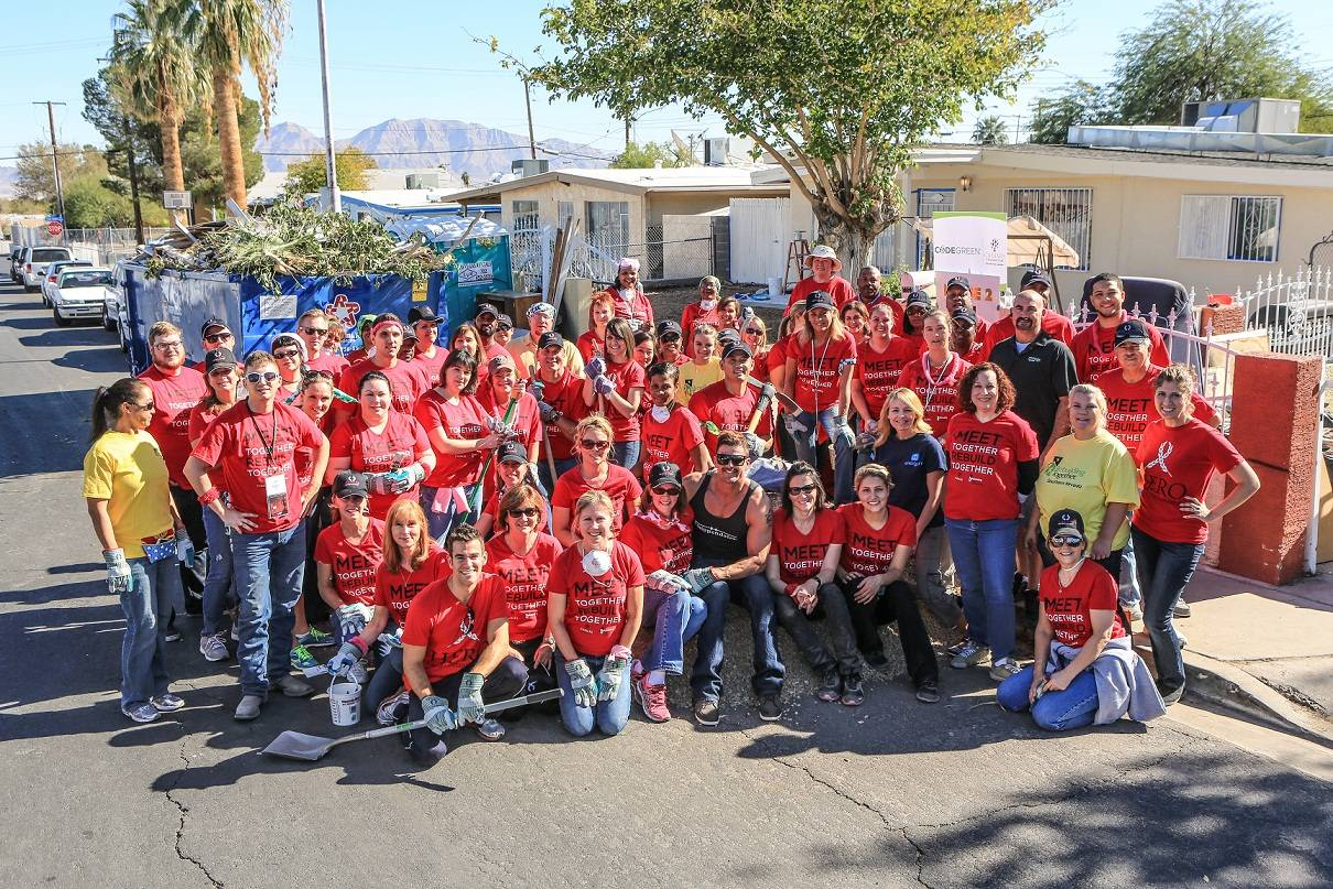 Rebuilding Together Event in North Las Vegas Novemeber 9, 2013