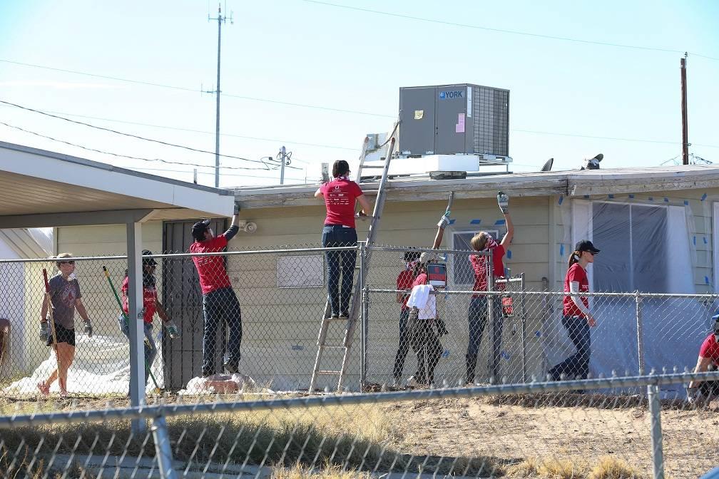 Rebuilding Together Event in North Las Vegas Novemeber 9, 2013