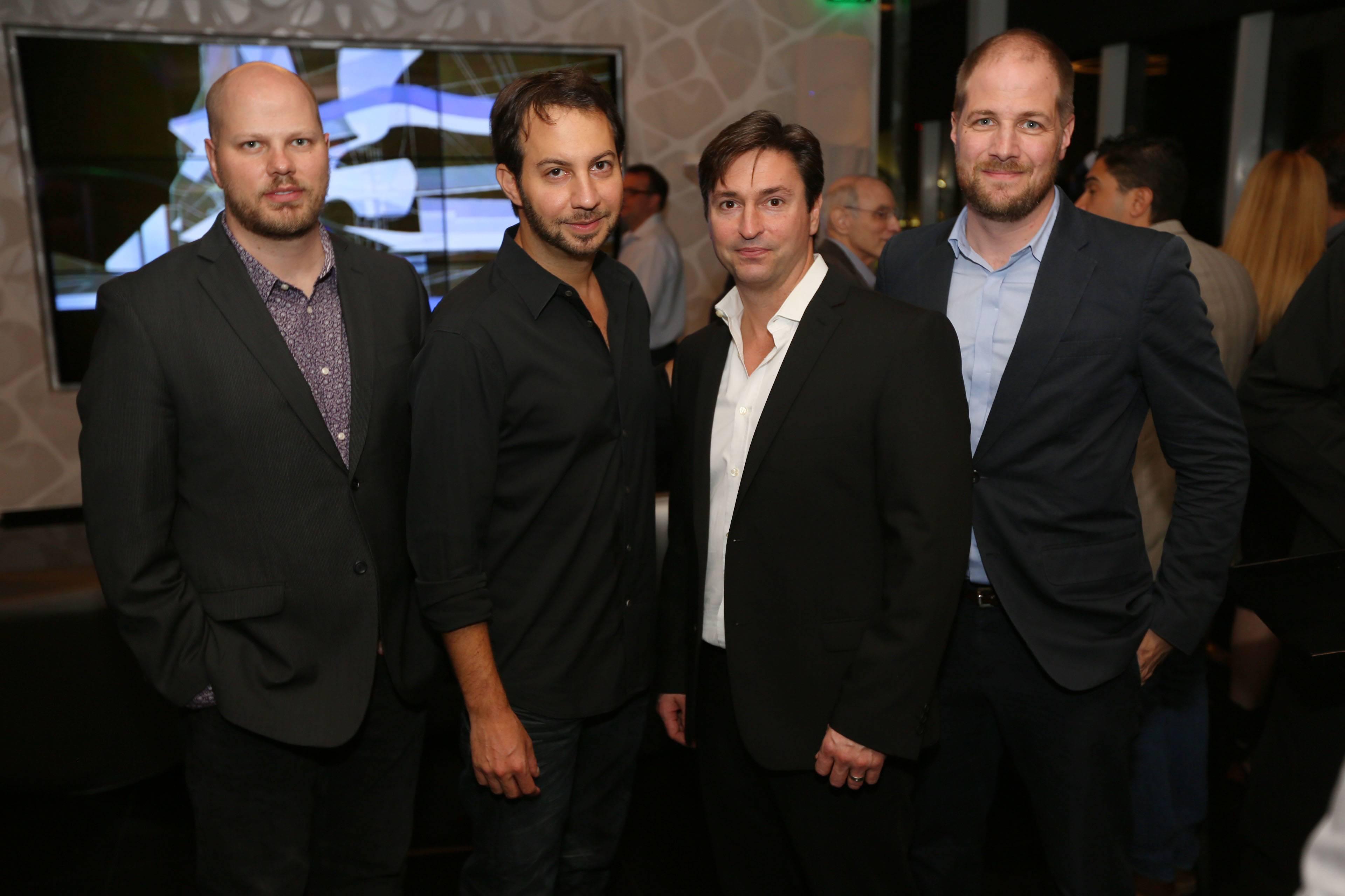 Michael Powers, Jared Shapiro, Chris Levine, & Stephan Wurster