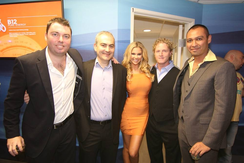 REVIV owners German Kaupert, Dr. Ranaan Pokroy, Dr. Andrew Garff and Dr....