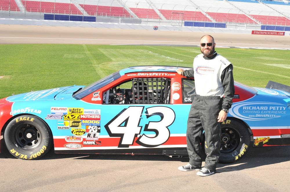 Randy Couture at Richard Petty