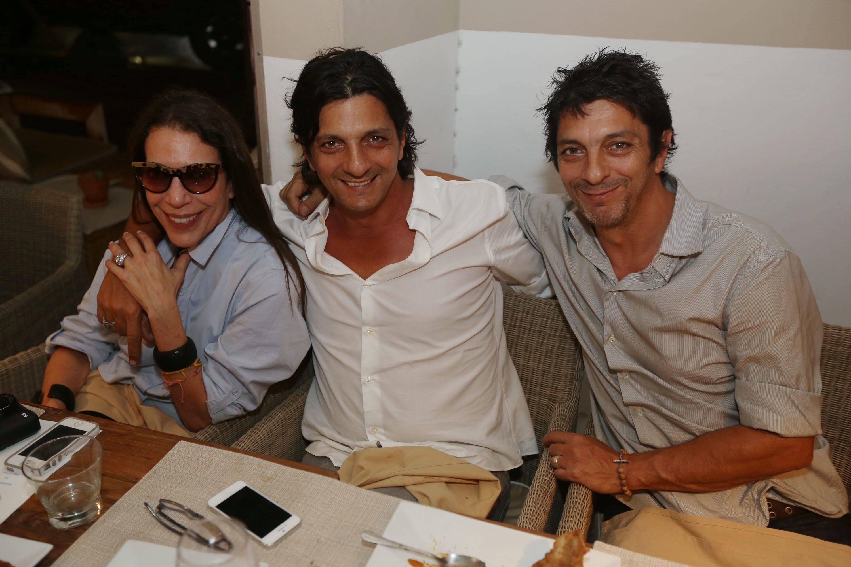 Sam Robin, & Francesco & Alberto Caracciolo Di Marano