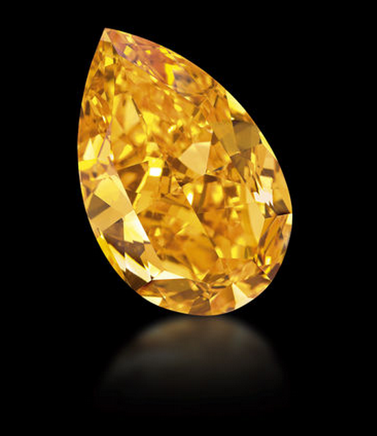 Christie's-orange-diamond