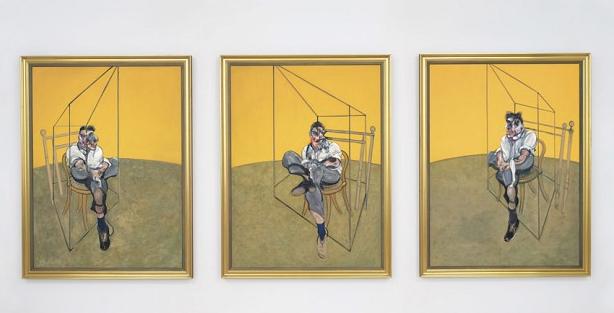 """Three Studies Of Lucian Freud"""