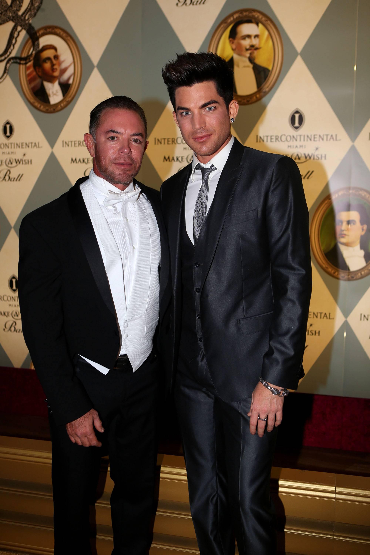 Shareef Malnik & Adam Lambert