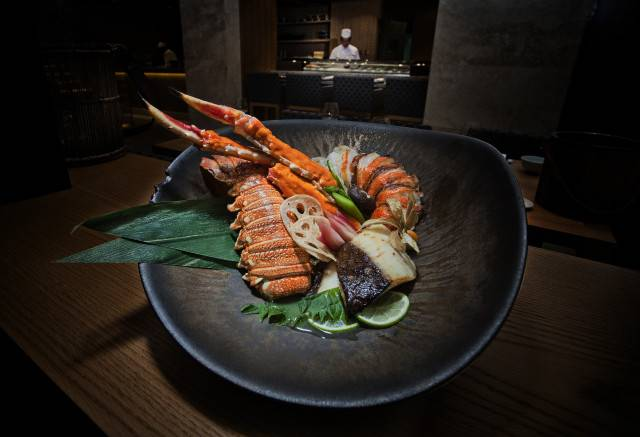 Spicy Tarabagani Hobayaki - Grilled Spicy king crab