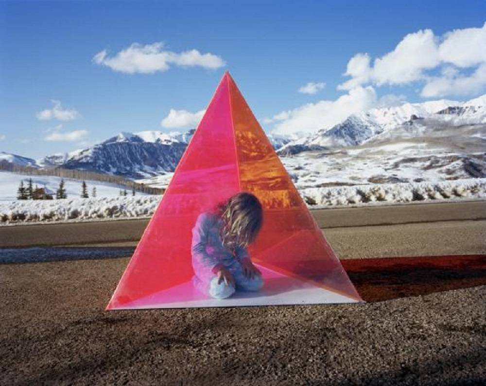 Untitled (Telluride Triangle) from the COLORSHAPE series