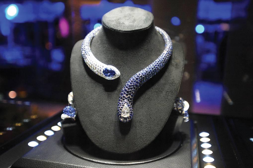 de Grisogono sapphire necklace