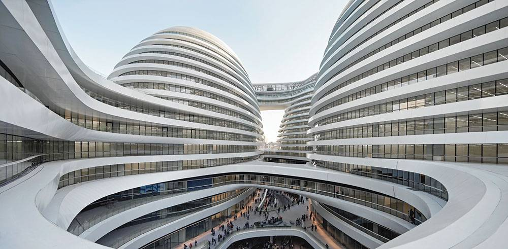 Galaxy Soho in Beijing, China