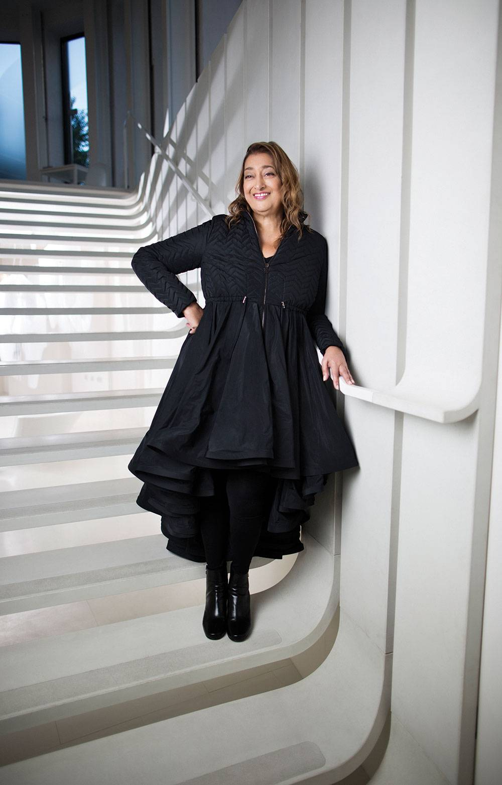 zaha hadid the world s brightest architecture star lights up miami. Black Bedroom Furniture Sets. Home Design Ideas