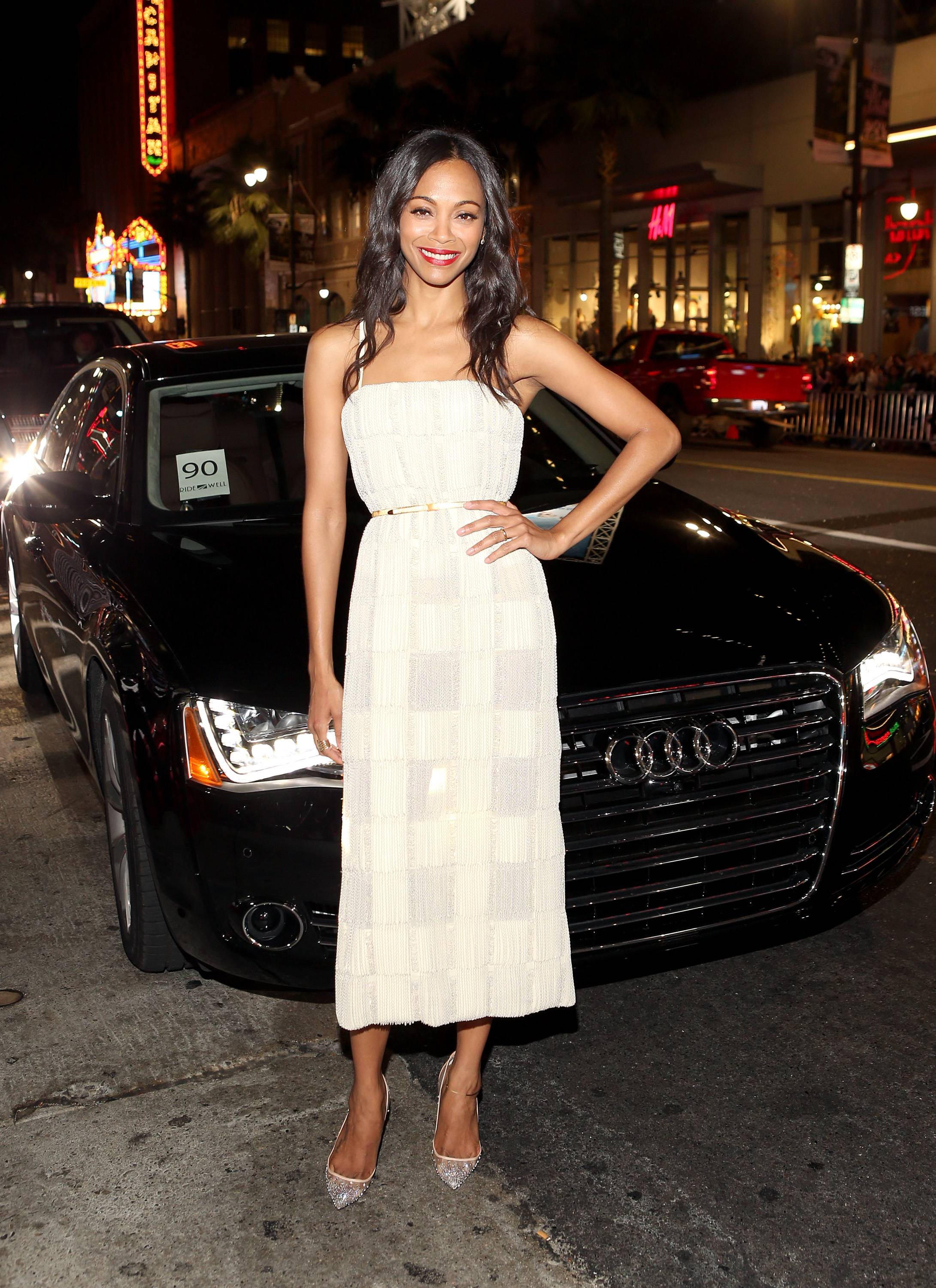 Audi Arrivals At AFI FEST 2013 Presented By Audi -