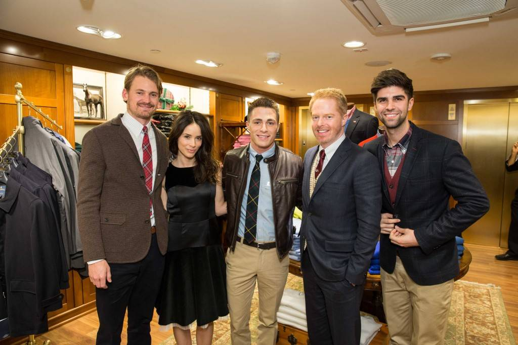 Josh Pence, Abigail Spencer, Colton Haynes, Jesse Tyler Ferguson and Justin Mikita  Credit: Drew Altizer Photography