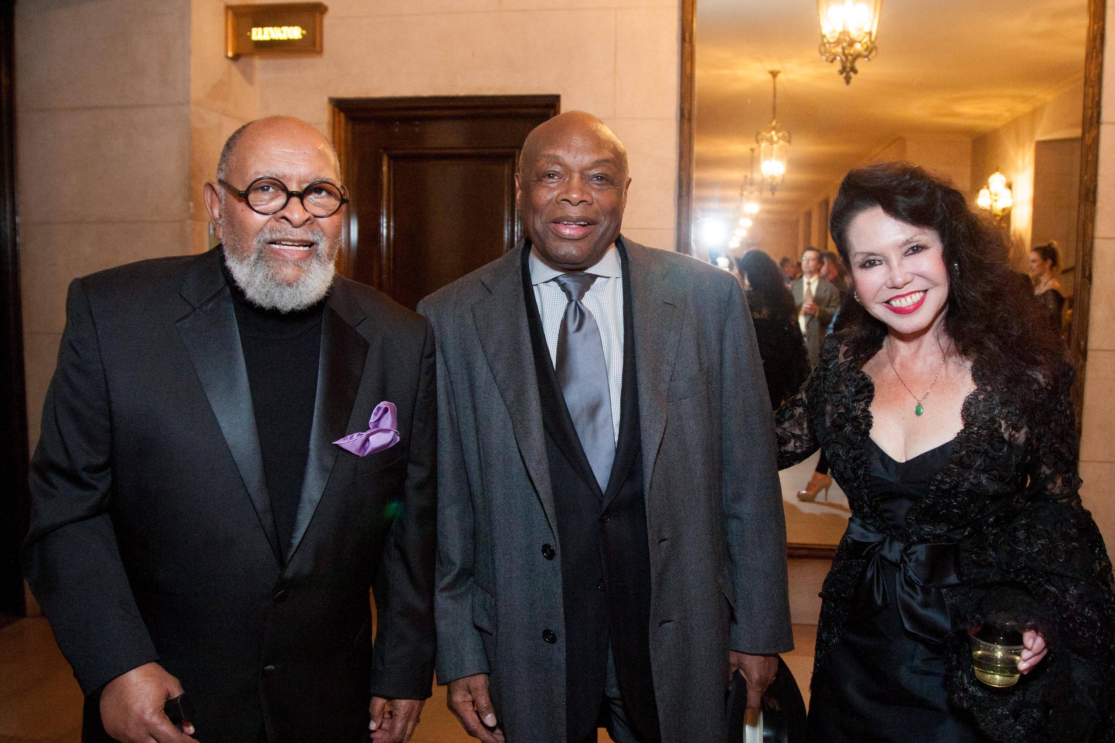 Reverend Cecil Williams, Willie Brown, Janice Mirikitani