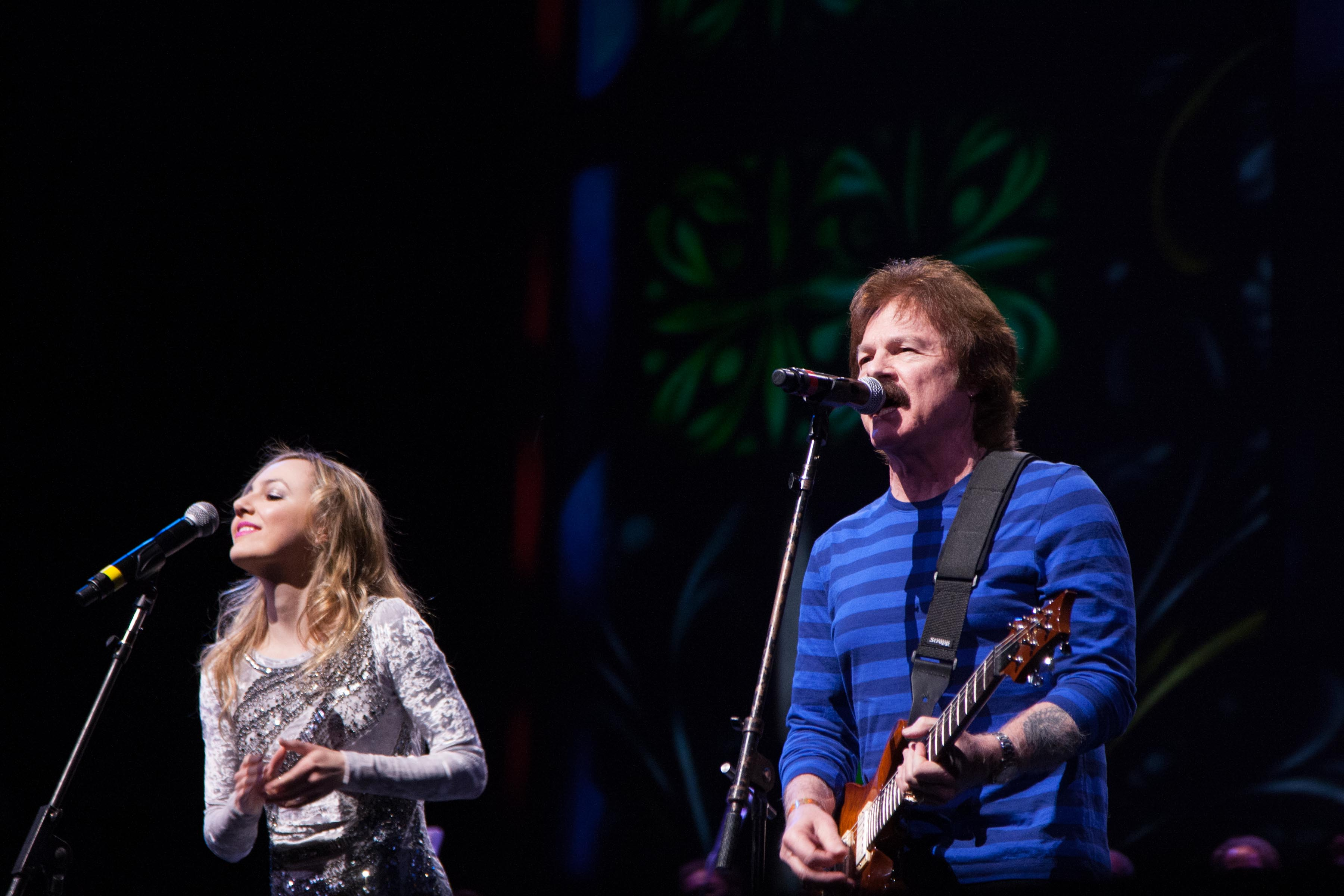 Performance by Lara Johnson and  Tom Johnson