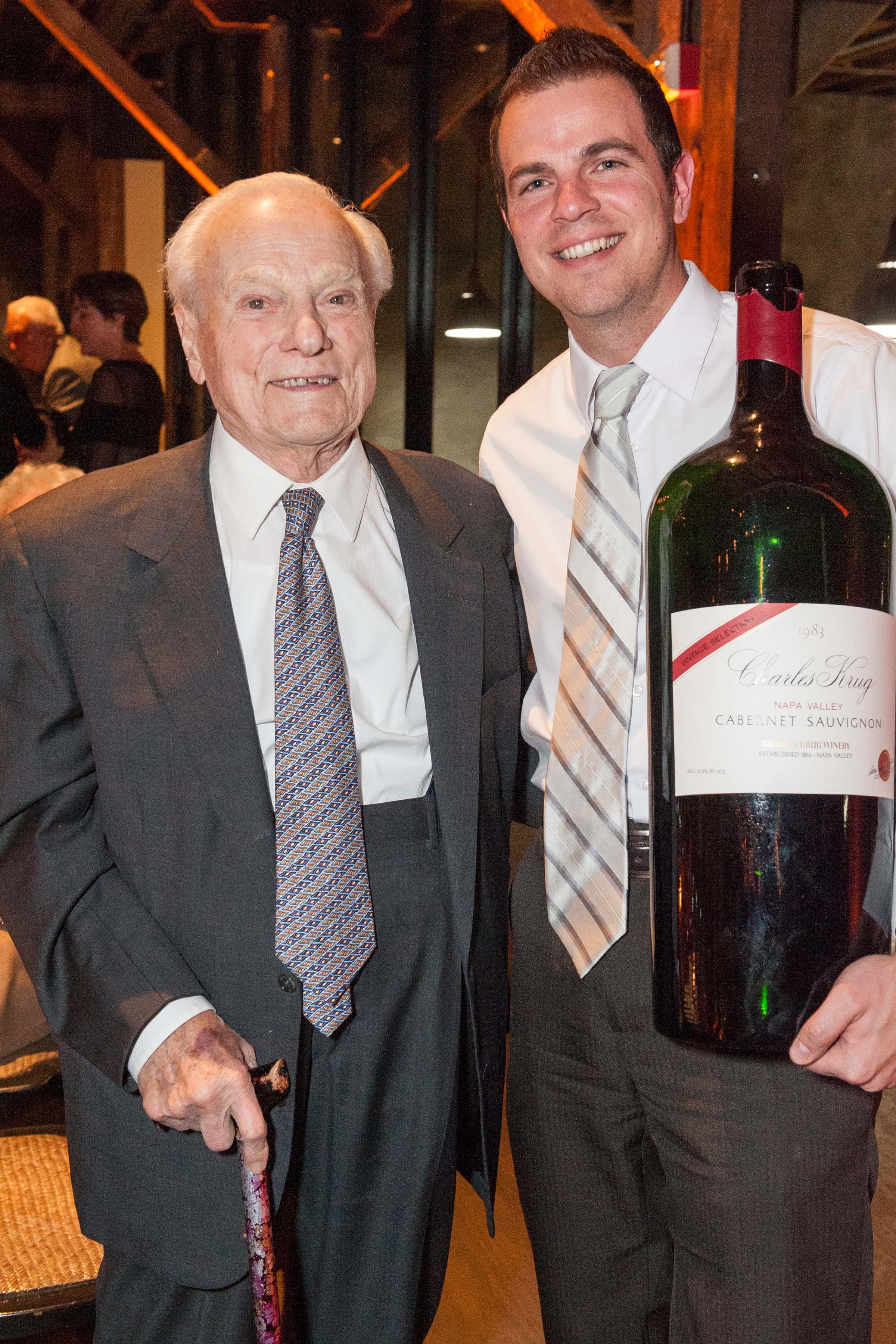 Peter Mondavi Sr. Birthday Celebration at Charles Krug Winery