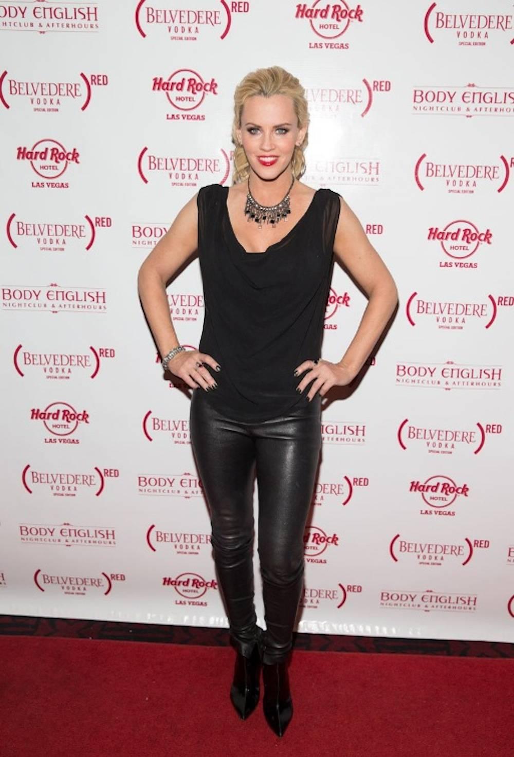 11.30_Jenny McCarthy on the red carpet_Body English Nightclub & Afterhours_Hard Rock Hotel & Casino_Photo Credit Erik Kabik