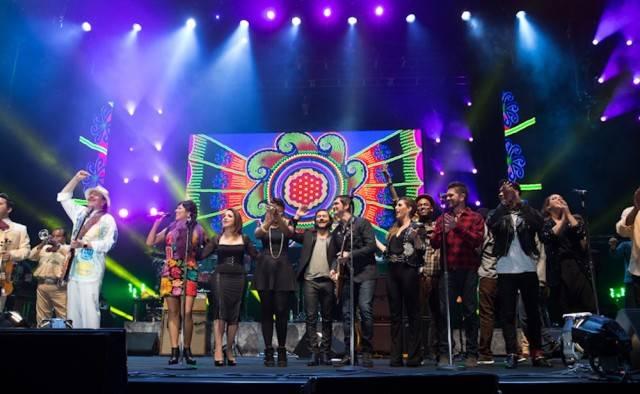 Santana All Star Concert in Mexico in Guadalajara, Mexico