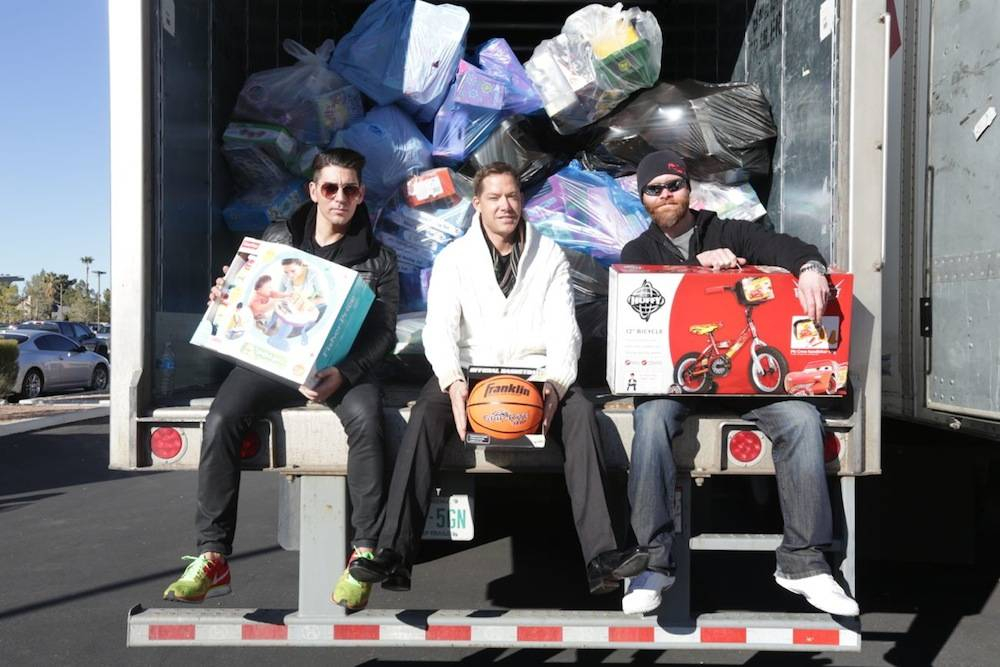 2013 - XS and Tryst Toy Drive - Ronn Nicolli - Jesse Waits - John Wood
