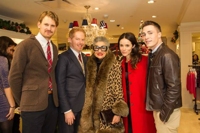 Josh Pence, Jesse Tyler Ferguson, Joy Venturini Bianchi, Abigail Spencer and  Colton Haynes  Credit: Drew Altizer Photography