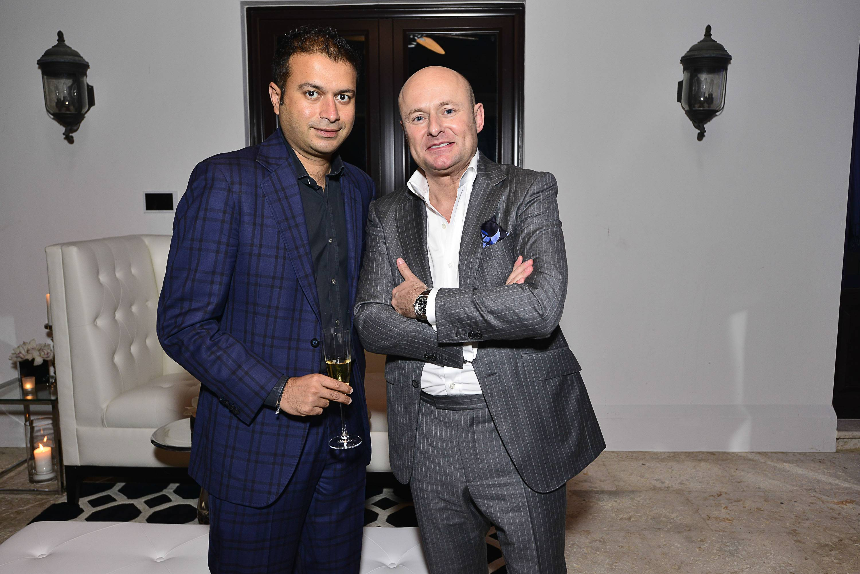 Kamal Hotchandani and Georges Kern