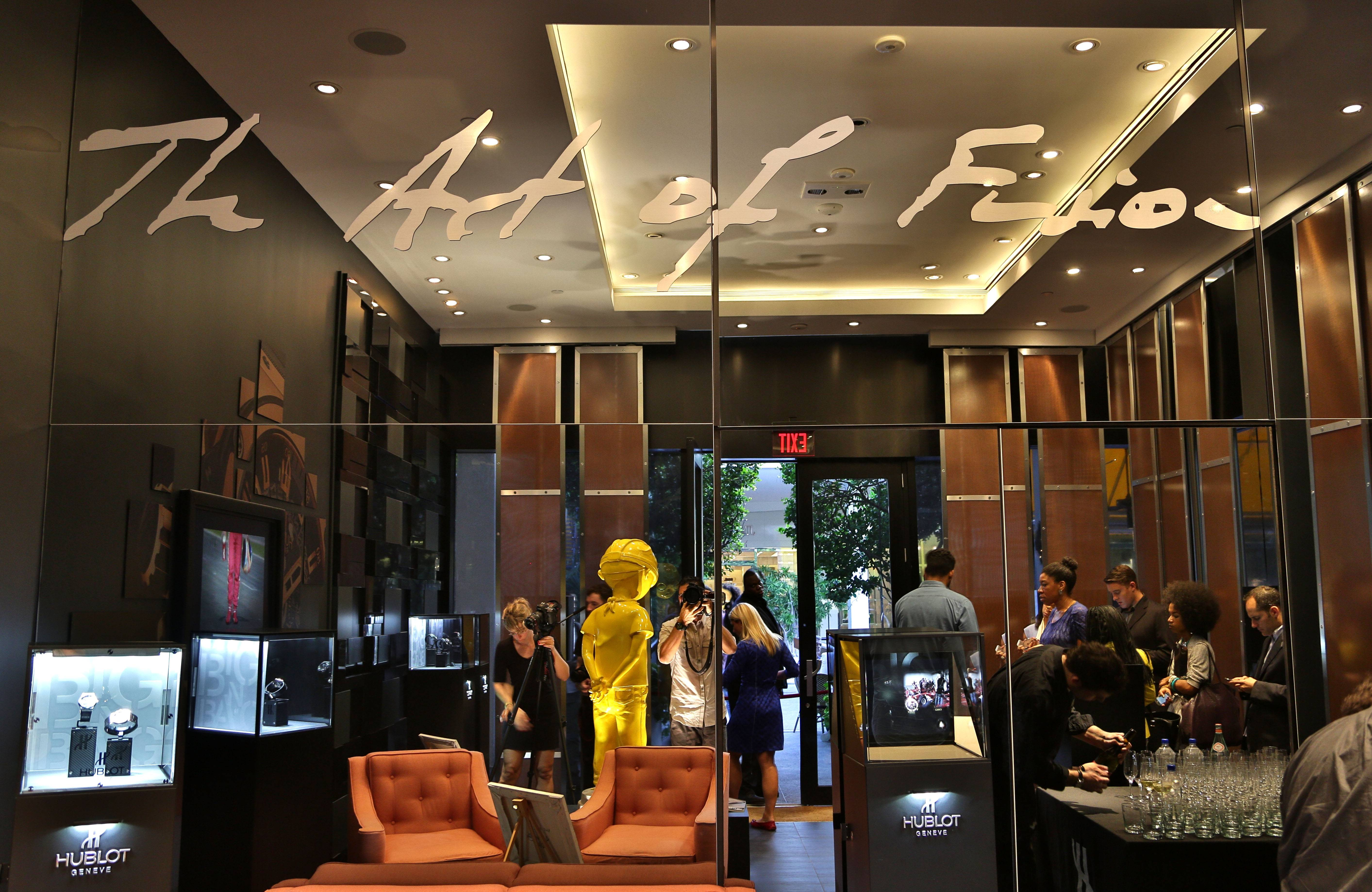 Haute Living Hublot - Hebru Brantly Event