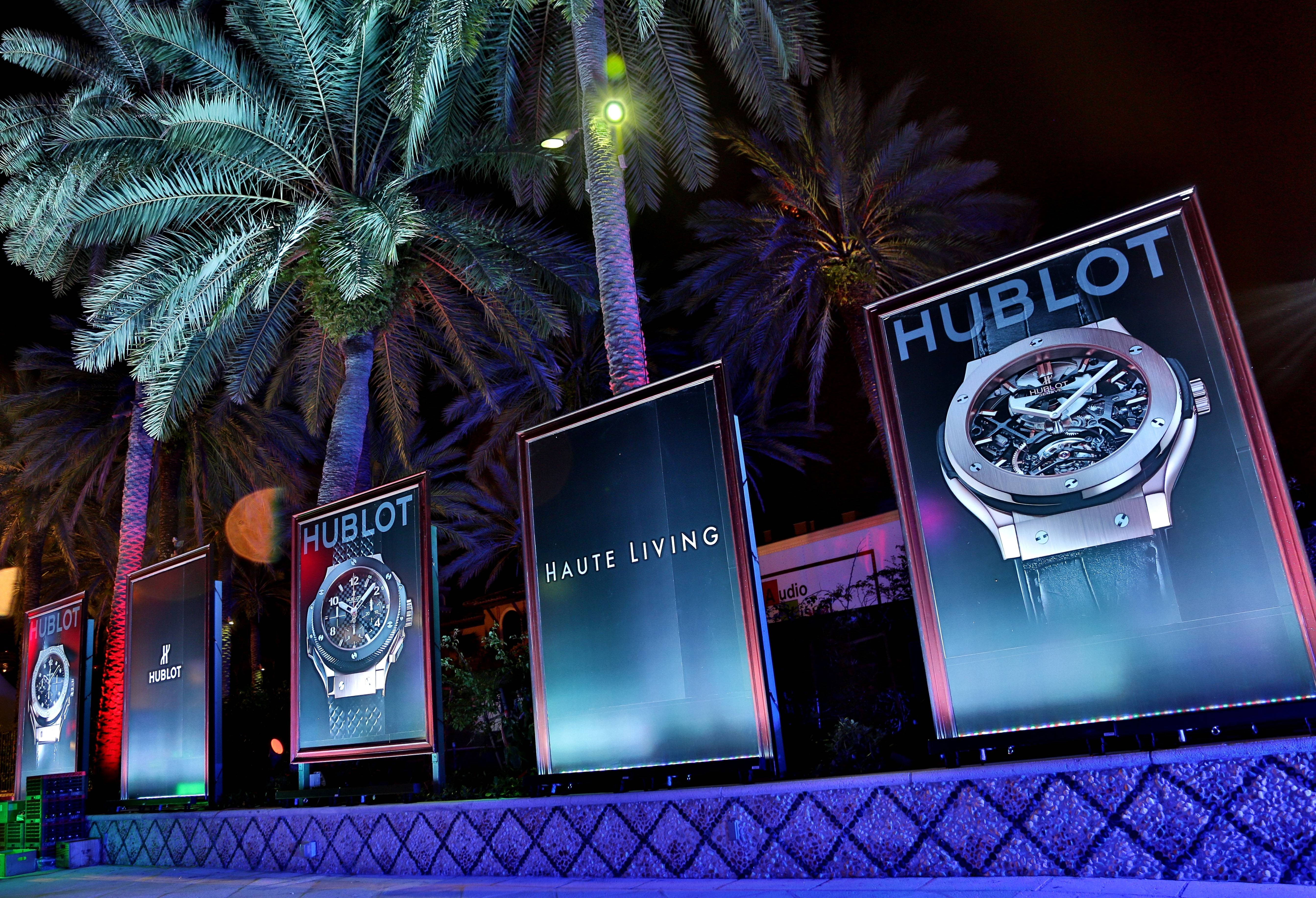 Haute Living And Hublot Celebrate The Art Of Fusion With Hebru Brantley On Star Island