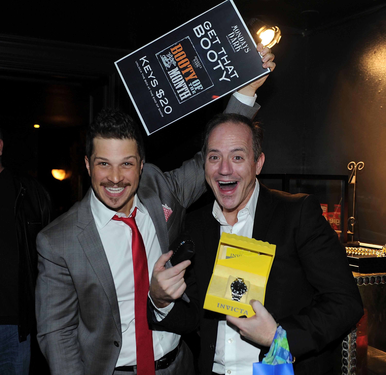 Mondays Dark Hosted By Mark Shunock Benefiting AFAN At Body English At The Hard Rock Hotel And Casino