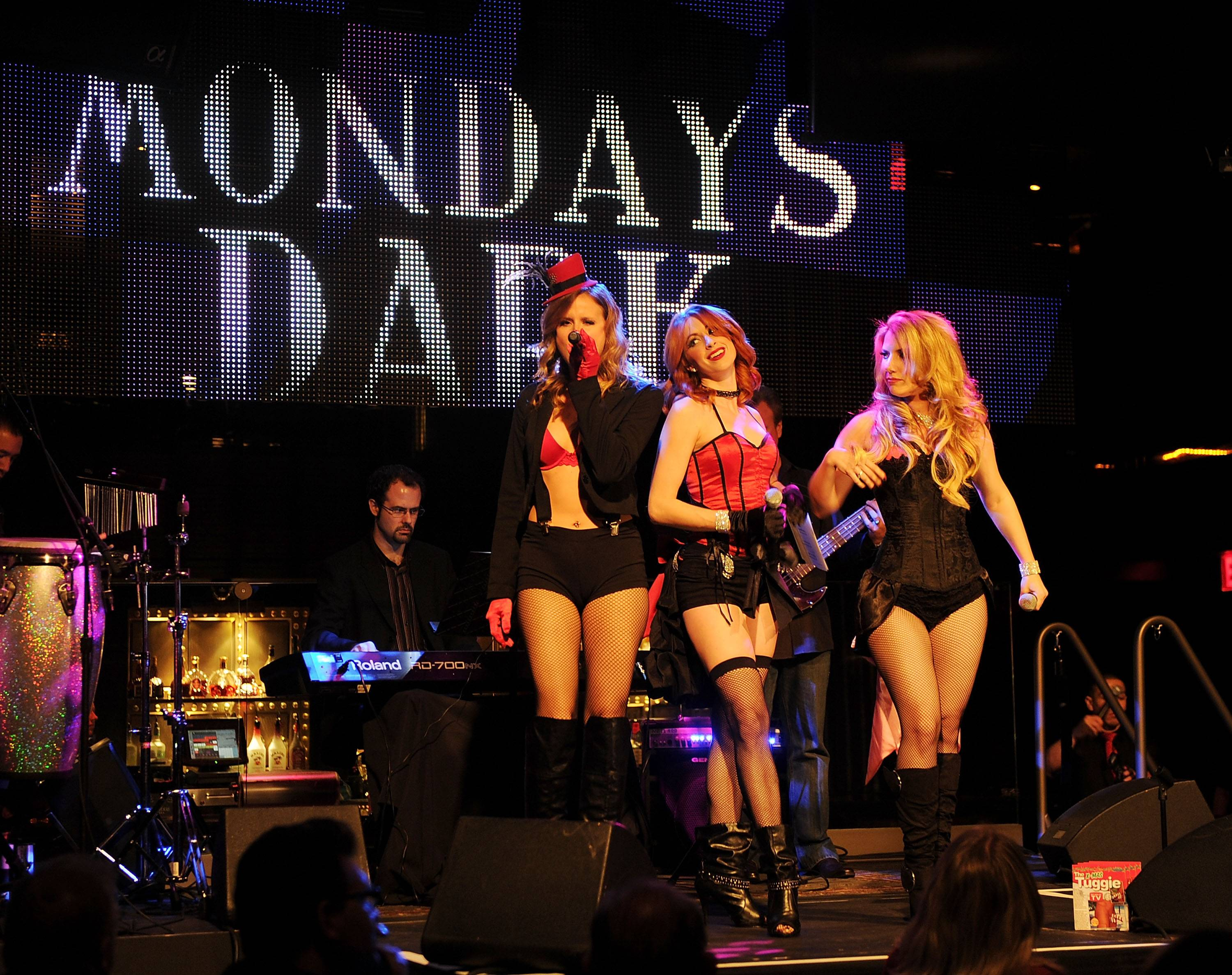 Mondays Dark Hosted By Mark Shunock Benefiting AFAN At Body English At The Hard Rock Hotel And Casino