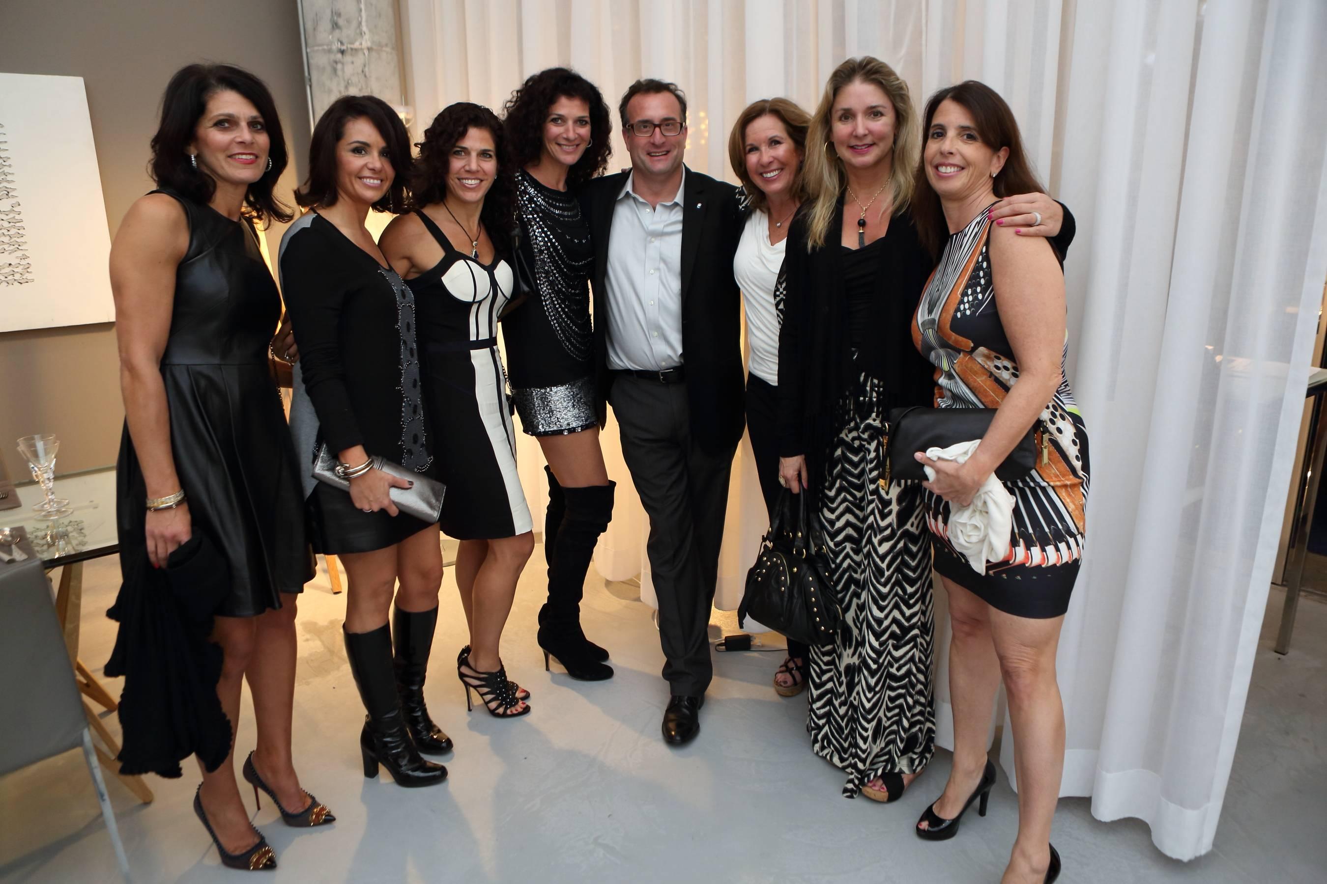 Angela Class, Maria Fava, Michelle Fava, Vanessa Fava, Patty Rubino, Renee Townsley Ellen Lopresti, Jeffrey Ehoodin