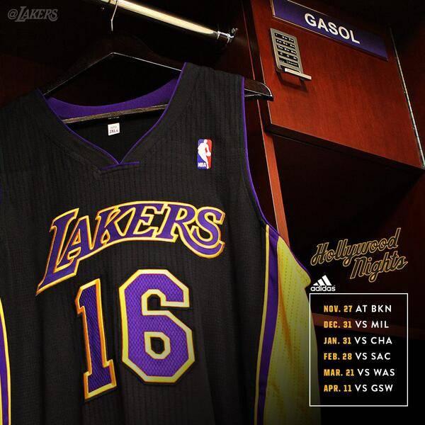 Image courtesy of LA Lakers, Twitter