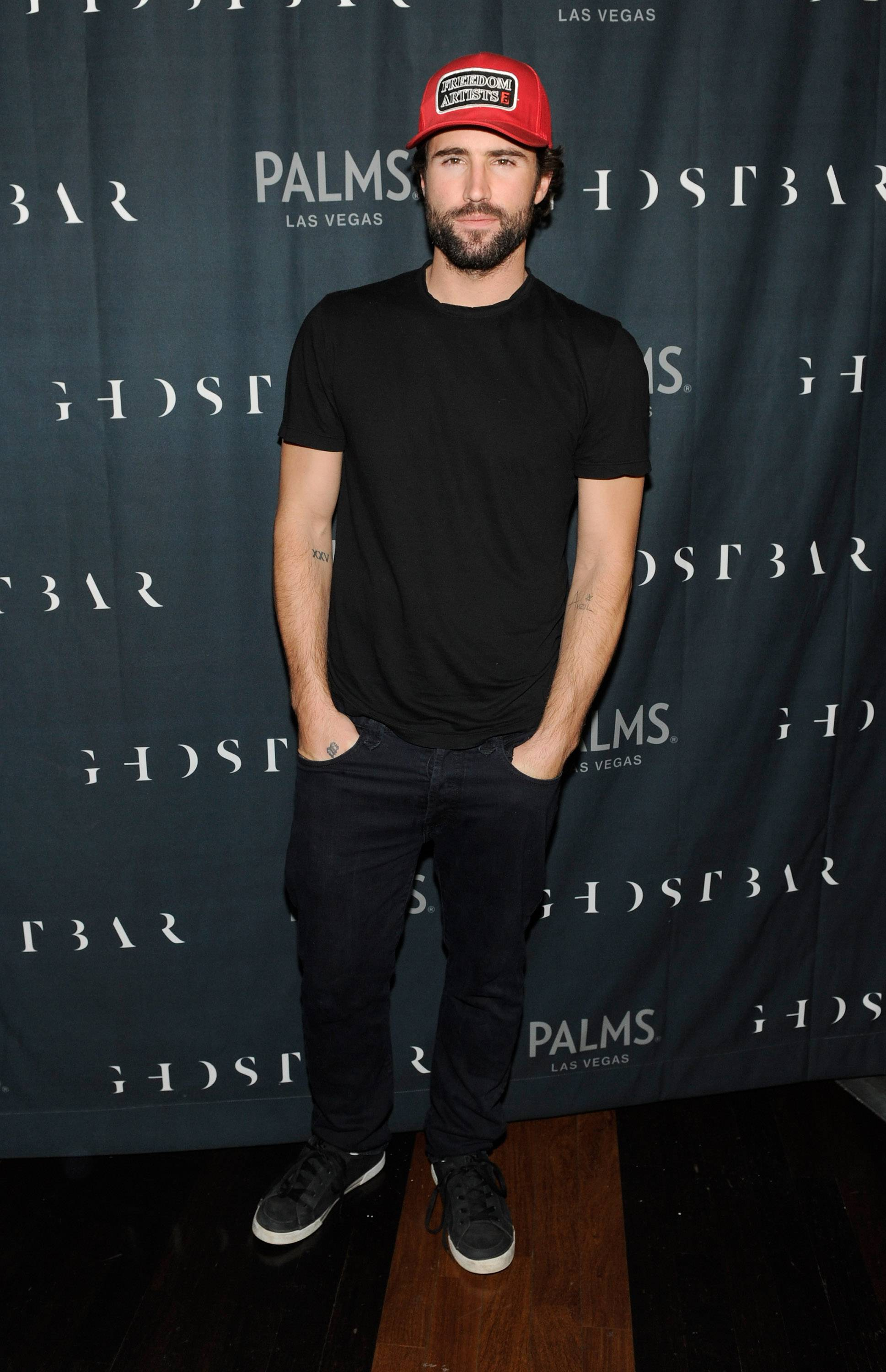 Brody Jenner Toasts Goodbye To 2013 At Ghostbar Inside The Palms Casino Resort