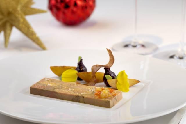 Burj Al Arab - Foie gras terrine