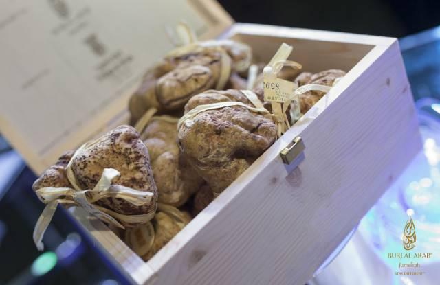 Burj Al Arab - white Alba truffles