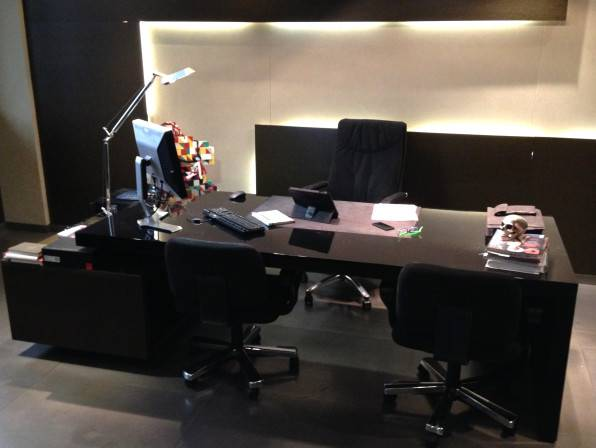 Desk of Andrea Boragno