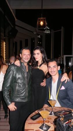Dipesh Depala, Diala Makki and Rami Al Ali