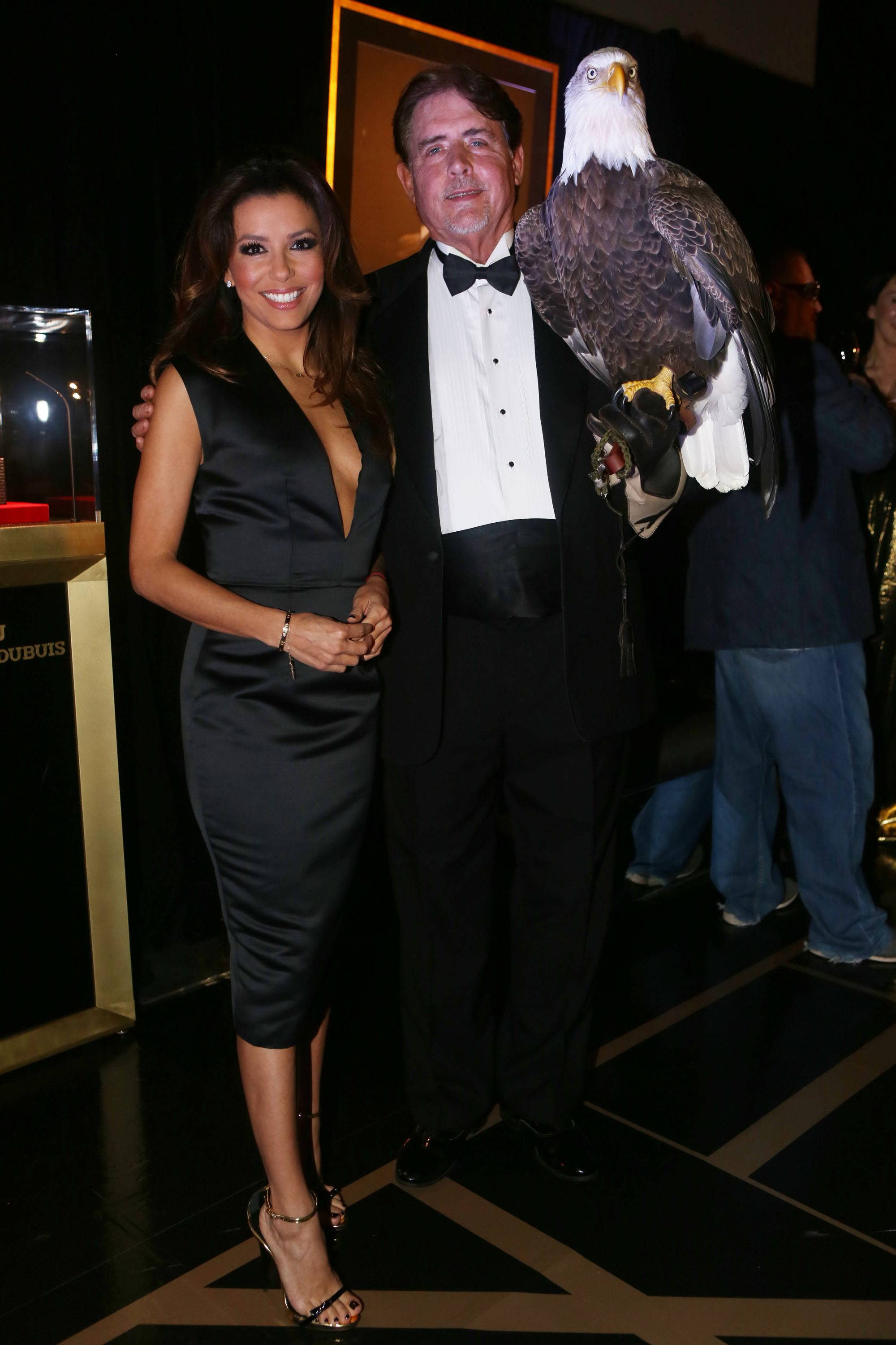 Eva Longoria & Bald Eagle3
