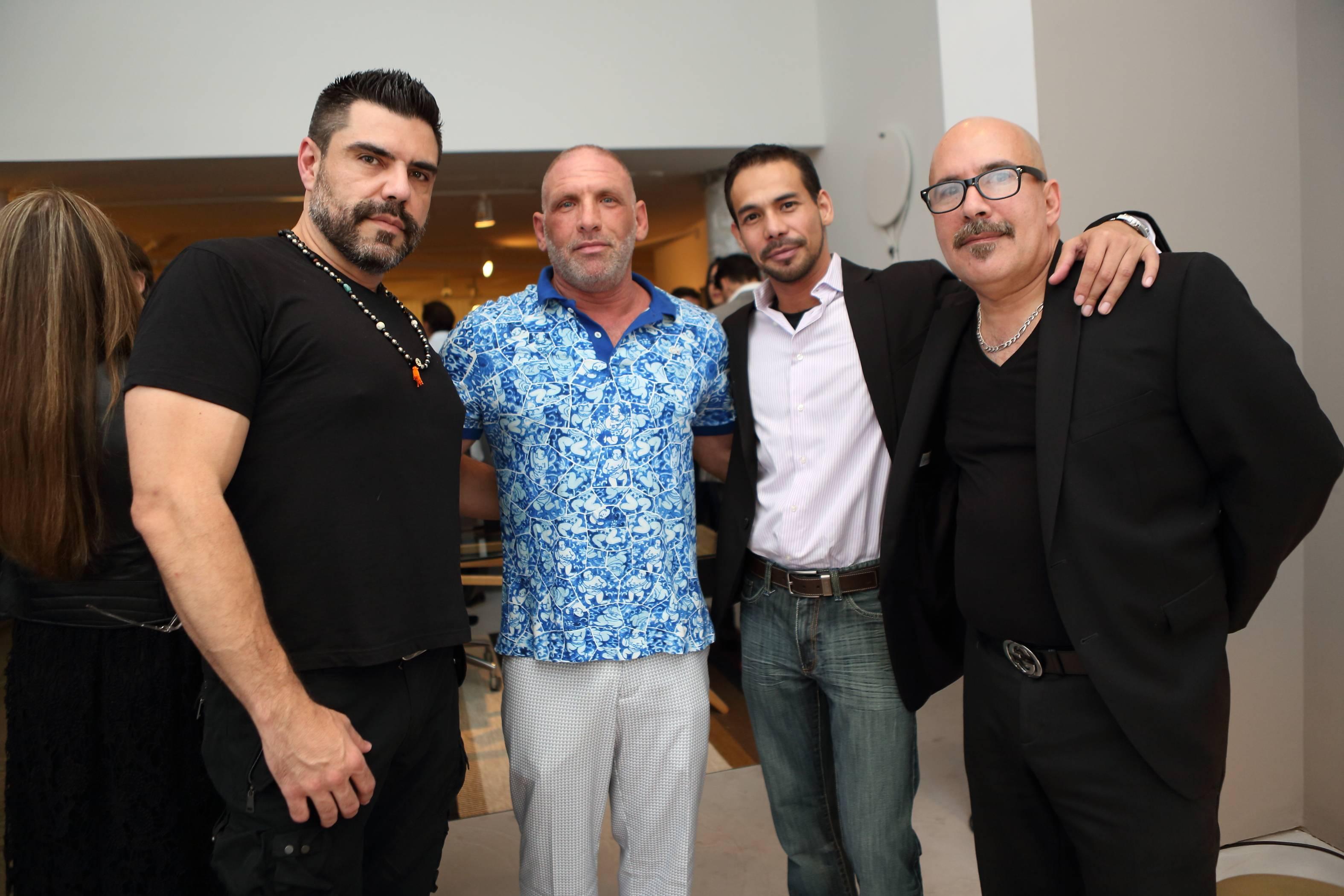 Federico Lastra, Max Yelin, Max Art designer, John Maldonado, Joe Martinez